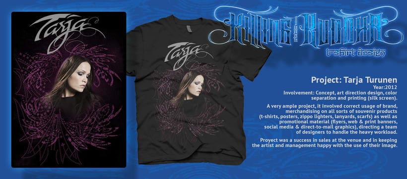 Tarja 2012 t-shirt y poster -1