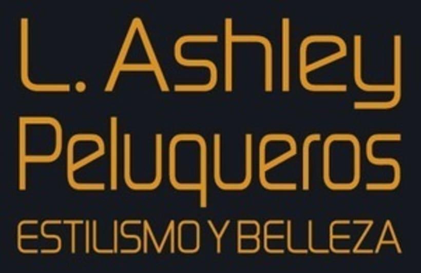 Logo corporativo - L. Ashley Peluqueros 0