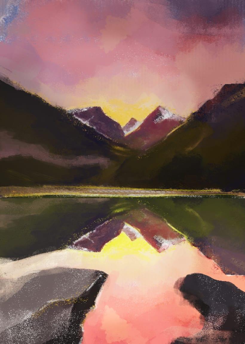 Mi Proyecto del curso: Pinceles y pixeles: introducción a la pintura digital en Photoshop 0