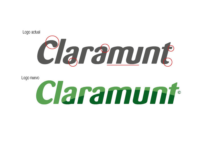 Restyling branding  Claramunt Food Services 6