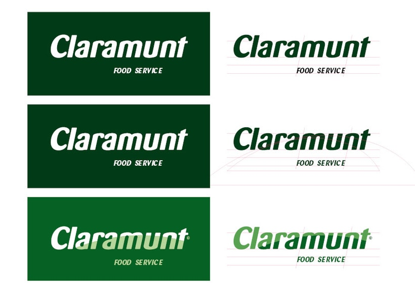 Restyling branding  Claramunt Food Services 7
