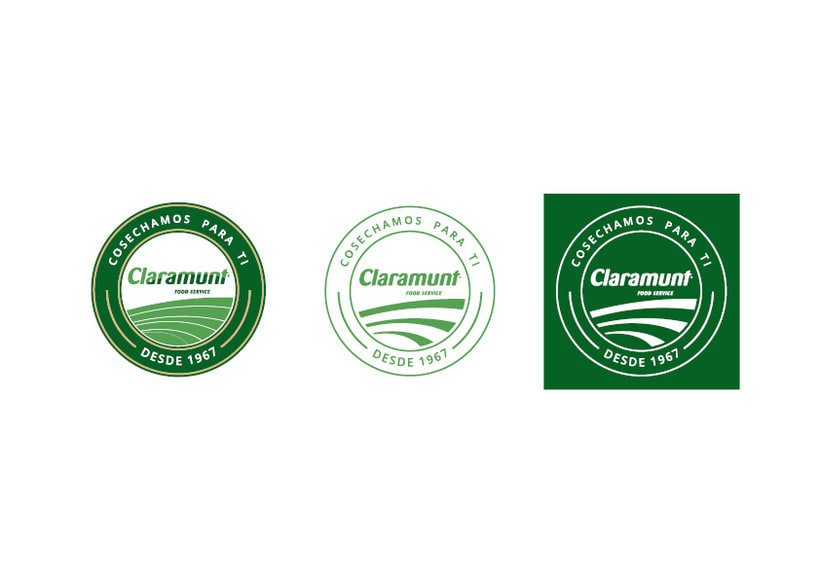 Restyling branding  Claramunt Food Services 18