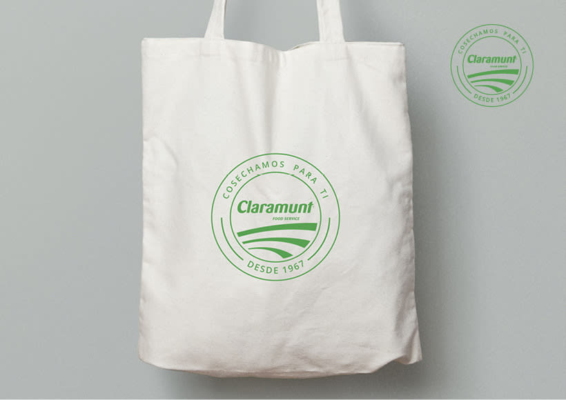 Restyling branding  Claramunt Food Services 22
