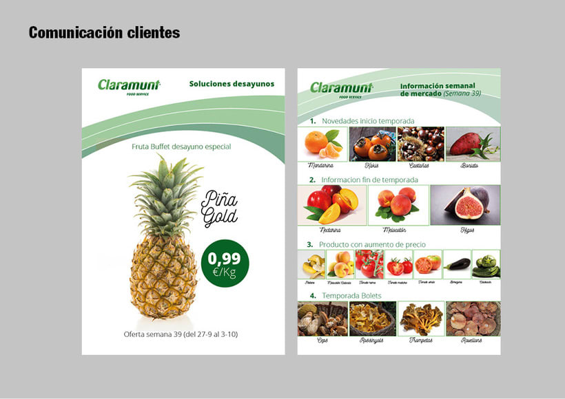 Restyling branding  Claramunt Food Services 26
