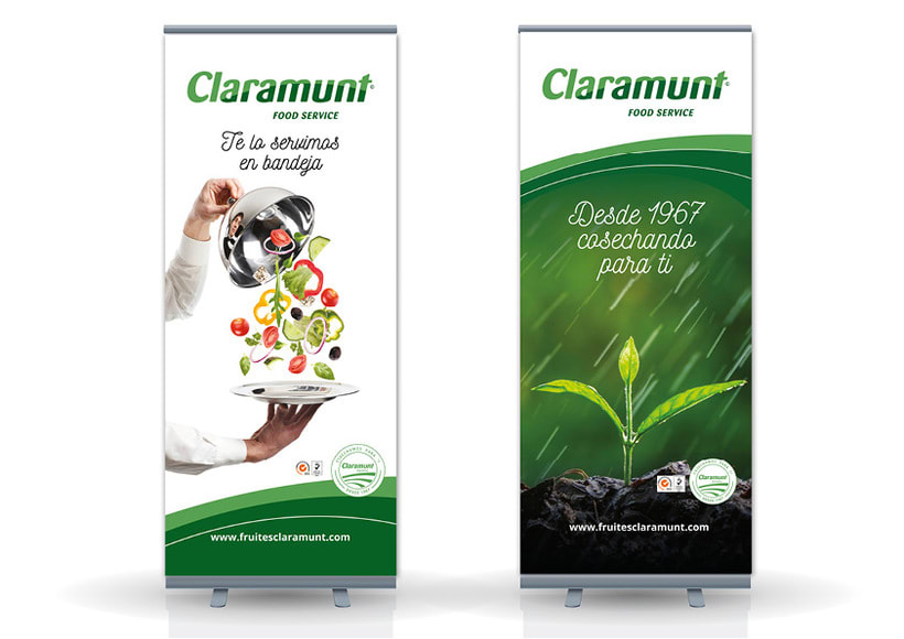 Restyling branding  Claramunt Food Services 27
