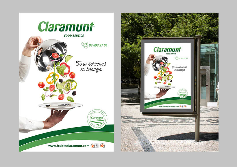 Restyling branding  Claramunt Food Services 28