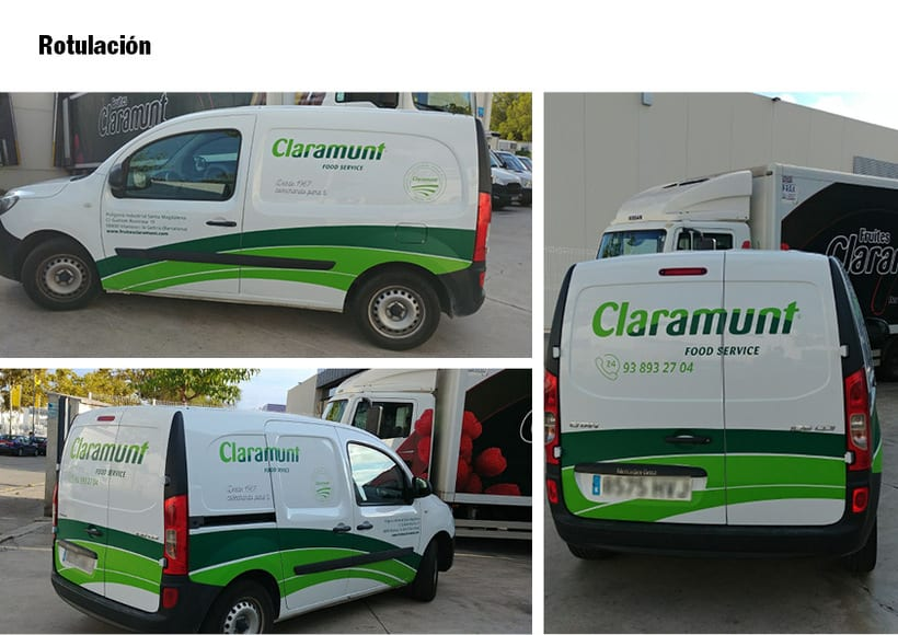 Restyling branding  Claramunt Food Services 30