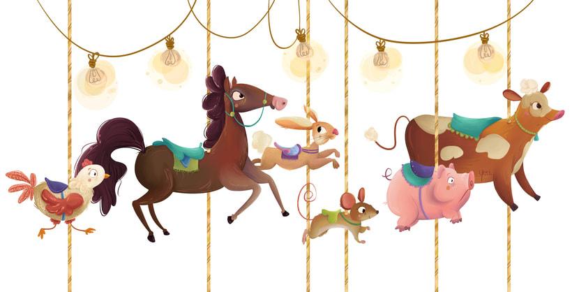 Carrusel Animal 0