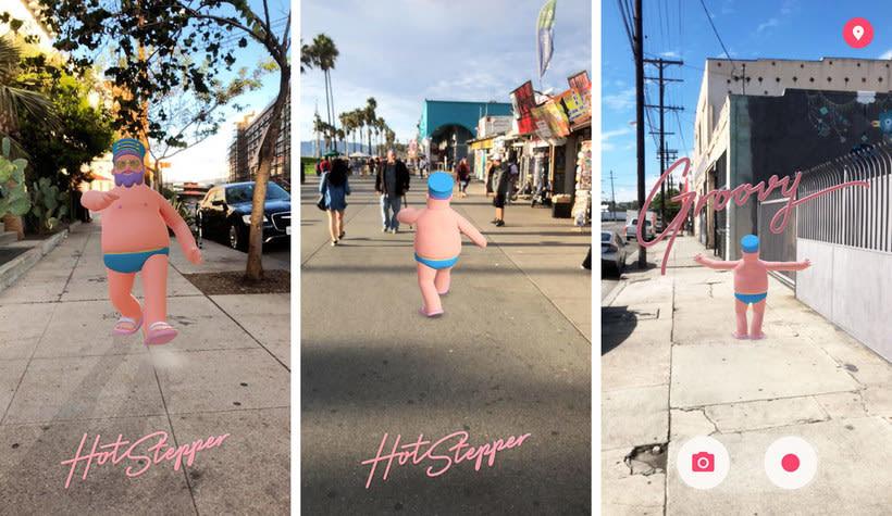 Hotstepper: un Google Maps divertido con diseño de Aarón Martínez 3