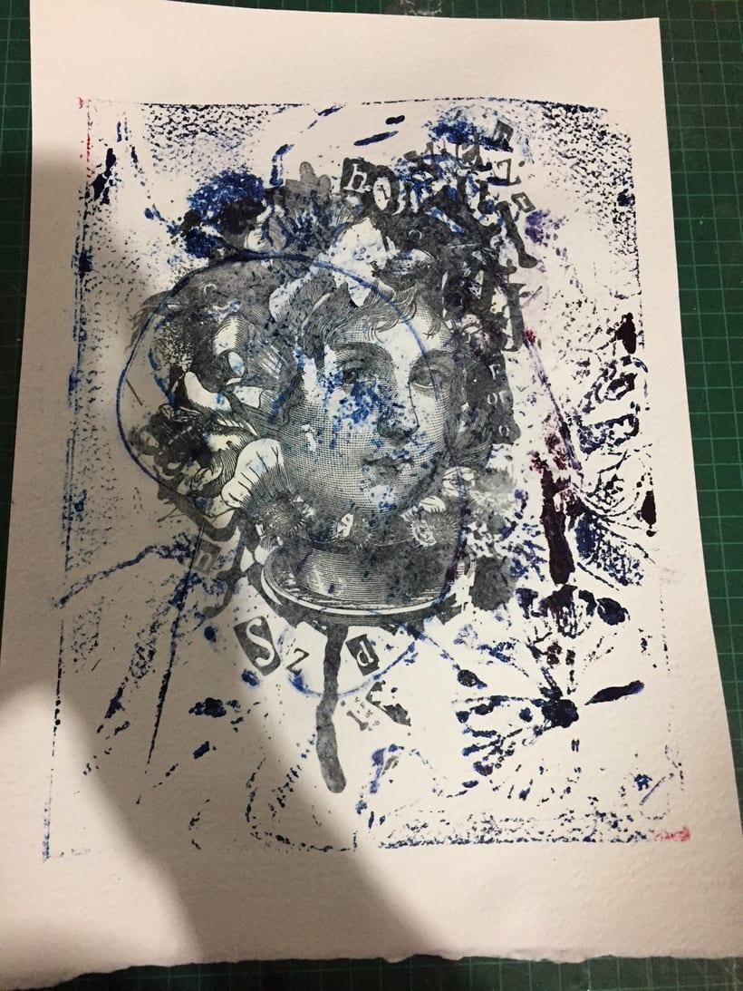 Mi Proyecto del curso: Técnicas experimentales de ilustración: de lo digital a lo artesanal 1