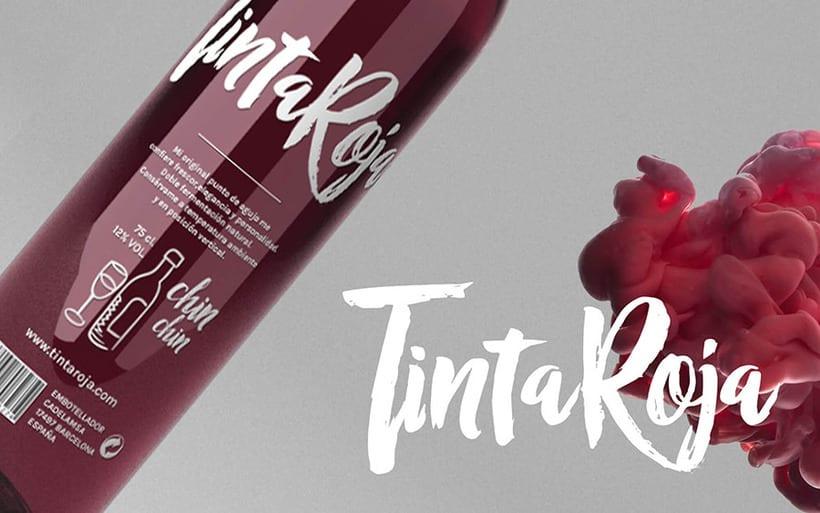 Vino Tinta Roja :: Branding + labels 4