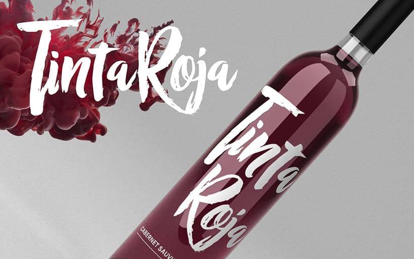 Vino Tinta Roja :: Branding + labels 5