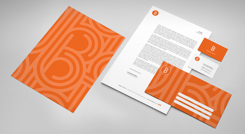 BARRIO DIGITAL · Brand Identity Design 1