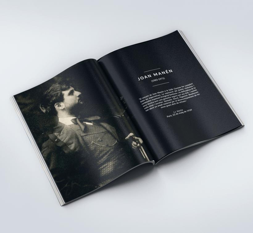 Diseño Catálogo - Associacó Joan Manén 1