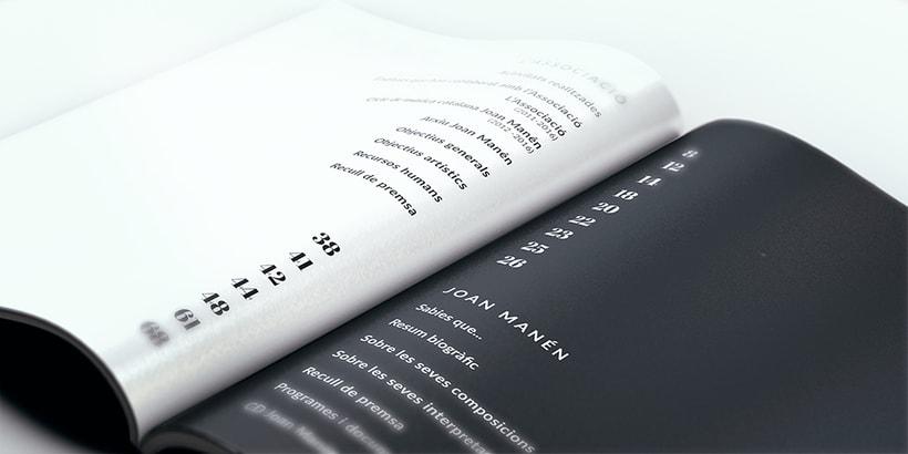 Diseño Catálogo - Associacó Joan Manén 2