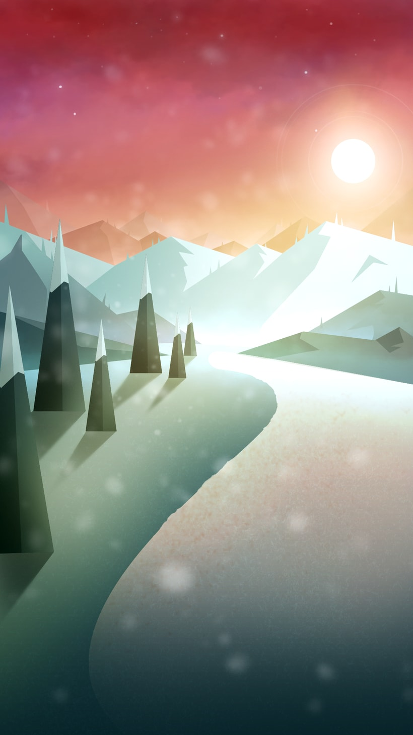 illustration - Winter -1