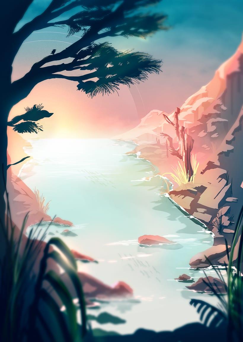 illustration - summer end 0