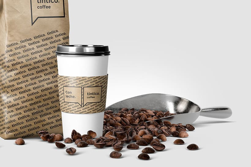 Tintico Coffee :: Logo + Packaging 4