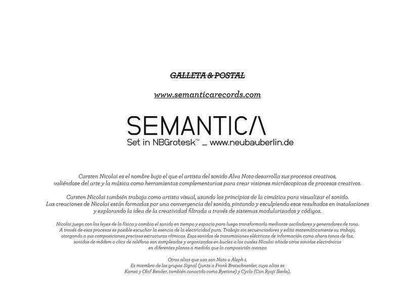 Aiken - Semantica Records 7