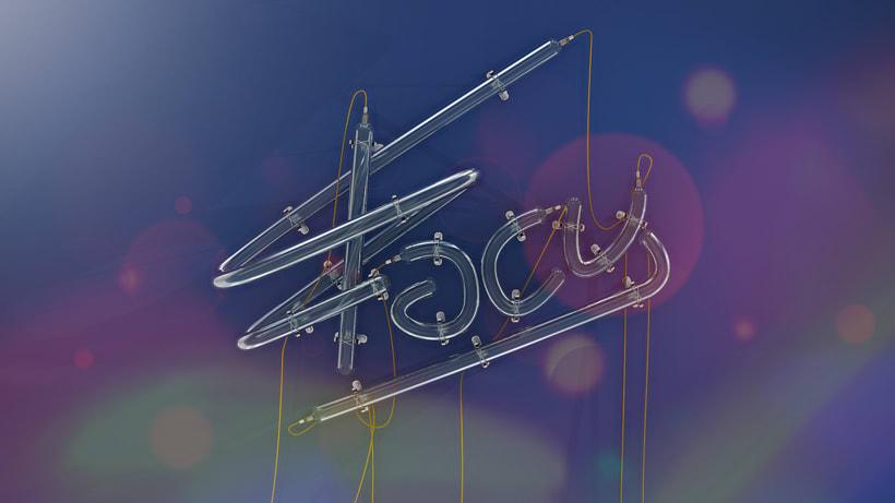 Mi Proyecto del curso: Lettering 3D: modelado y texturizado con Cinema 4D 5