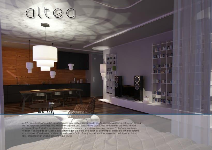 ALTEA - serie de lamparas -1
