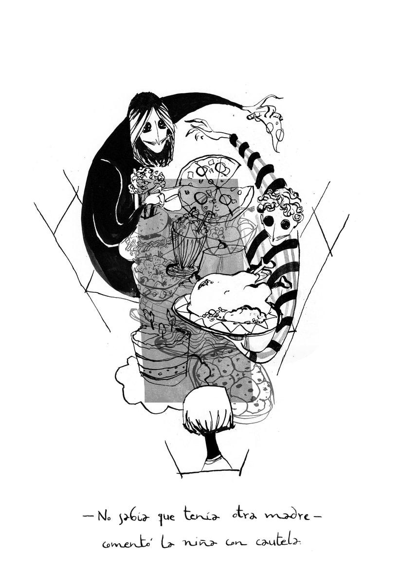 Ilustraciones para Coraline de Neil Gaiman 0