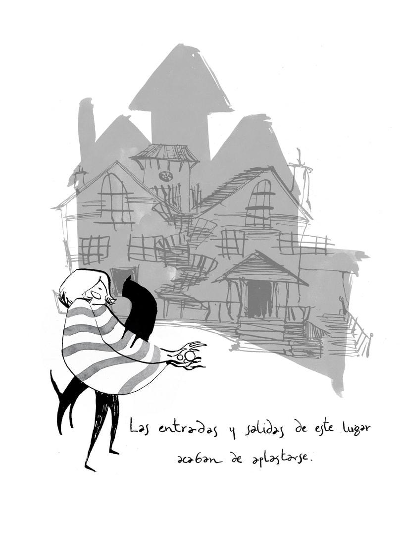 Ilustraciones para Coraline de Neil Gaiman 1