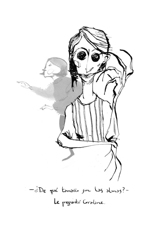 Ilustraciones para Coraline de Neil Gaiman 2