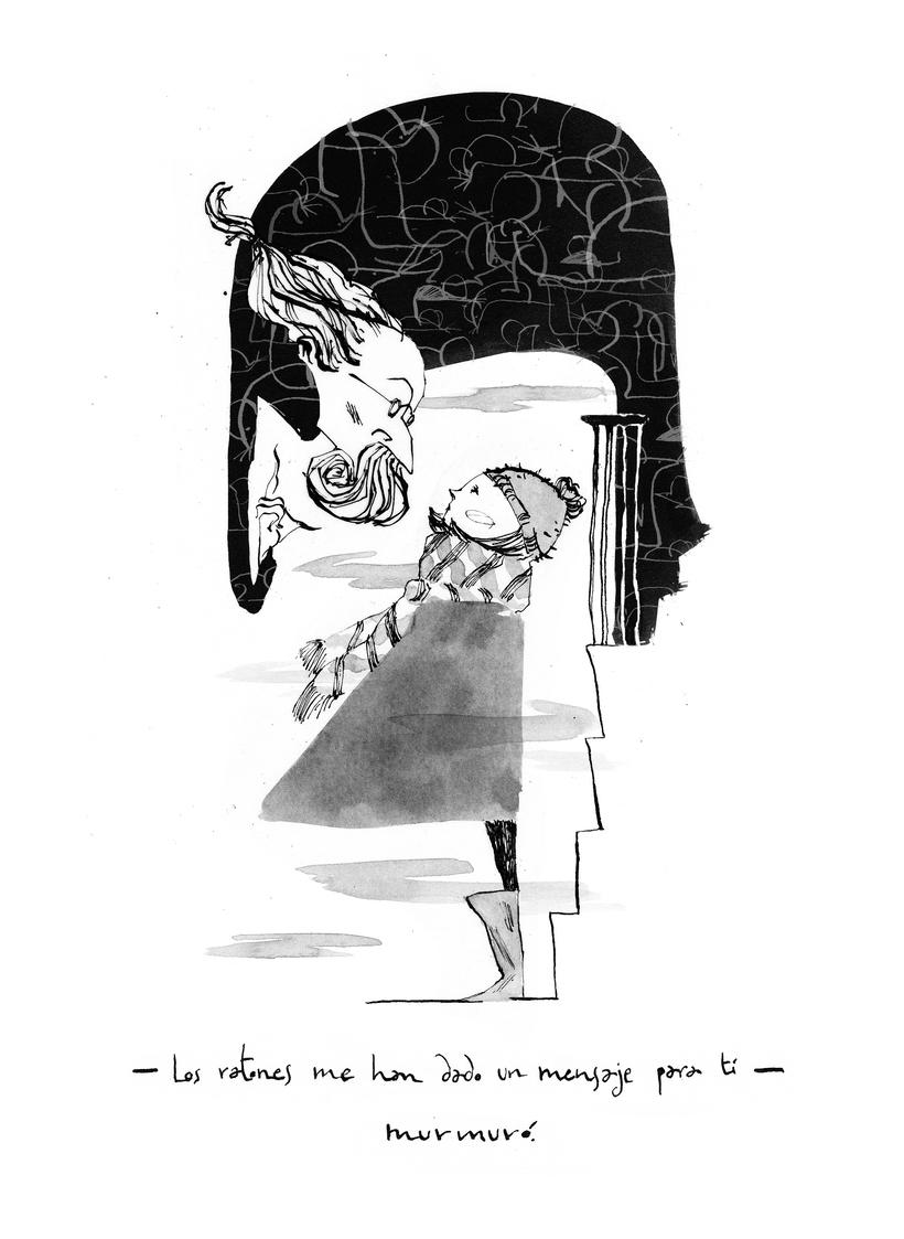 Ilustraciones para Coraline de Neil Gaiman 3