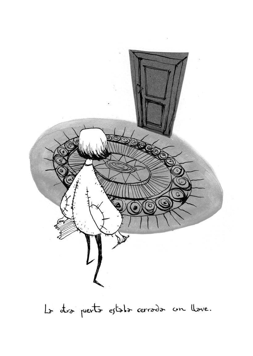 Ilustraciones para Coraline de Neil Gaiman 4