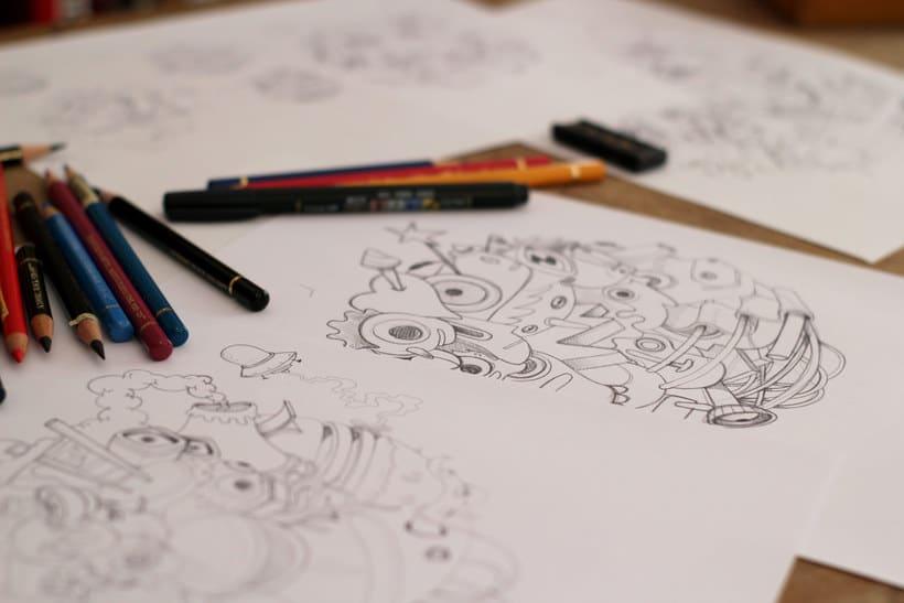Las ilustraciones de Óscar Lloréns para Gran Hermano 3