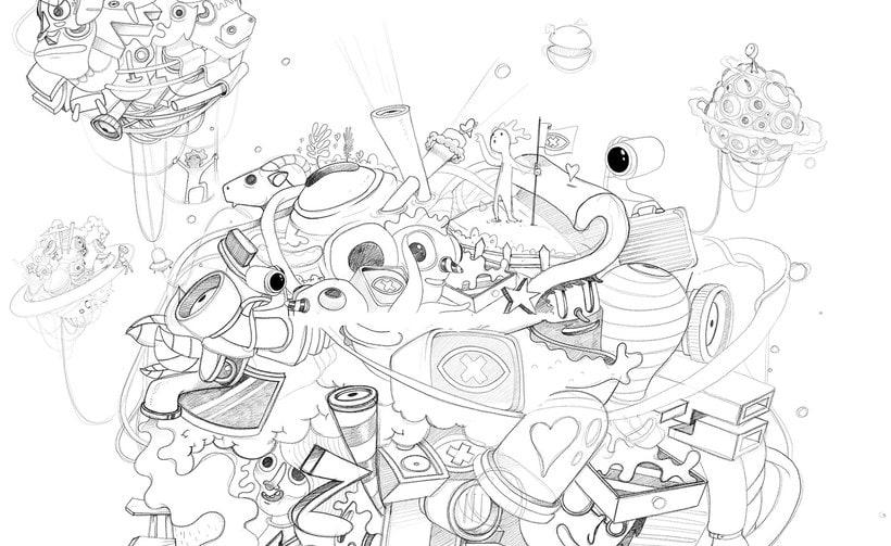 Las ilustraciones de Óscar Lloréns para Gran Hermano 15