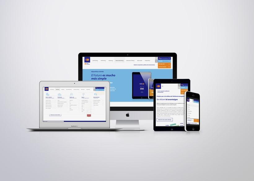 Caixa Ontinyent – diseño web 1