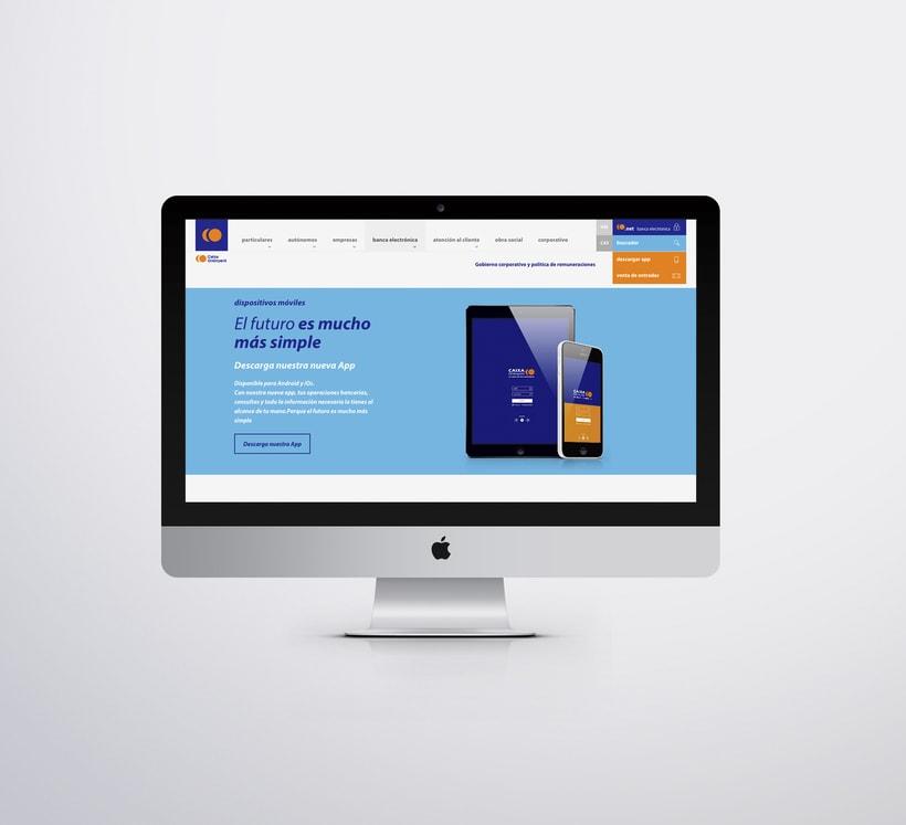 Caixa Ontinyent – diseño web 2