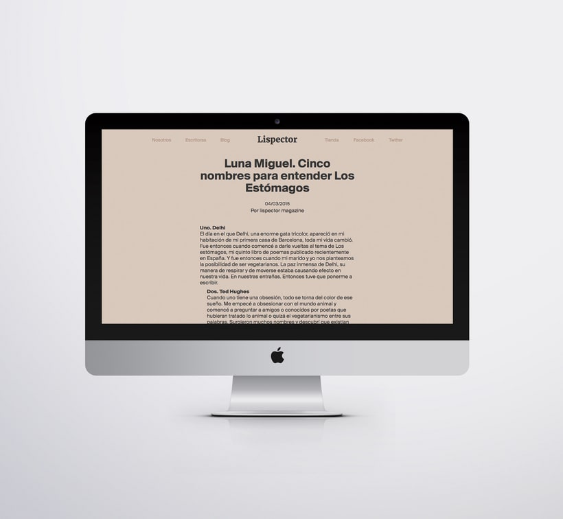 Lispector Magazine – revista digital 7