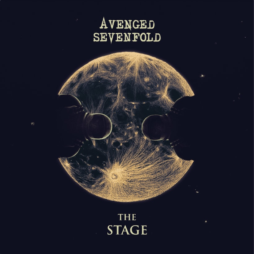 """Proyecto producto discográfico: """"Avenged Sevenfold-The Stage"""" -1"""