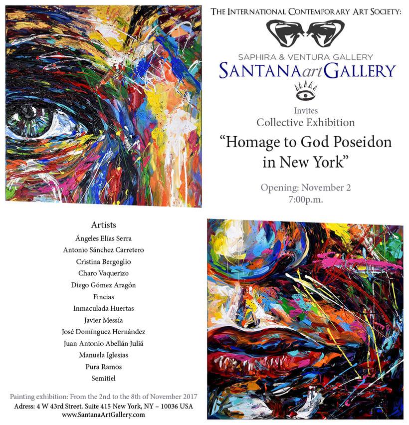 Diseño de Invitaciones - Imagen y Marca de Galería -1