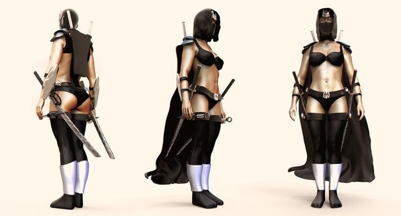 Chica guerrera 3