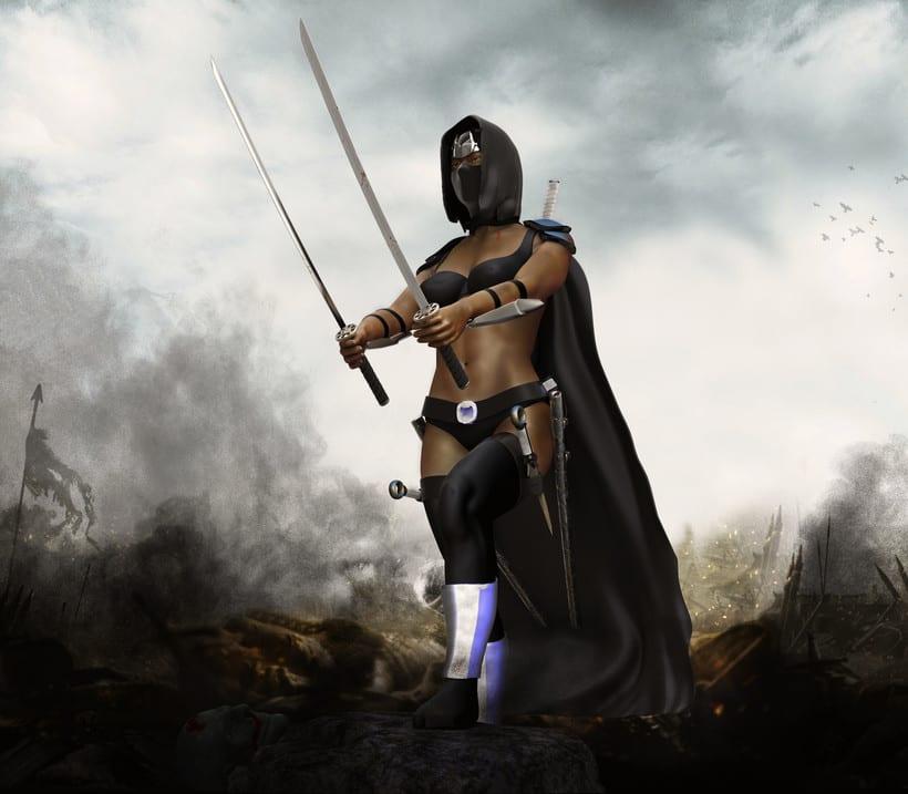 6337aa5e8b5be Chica guerrera