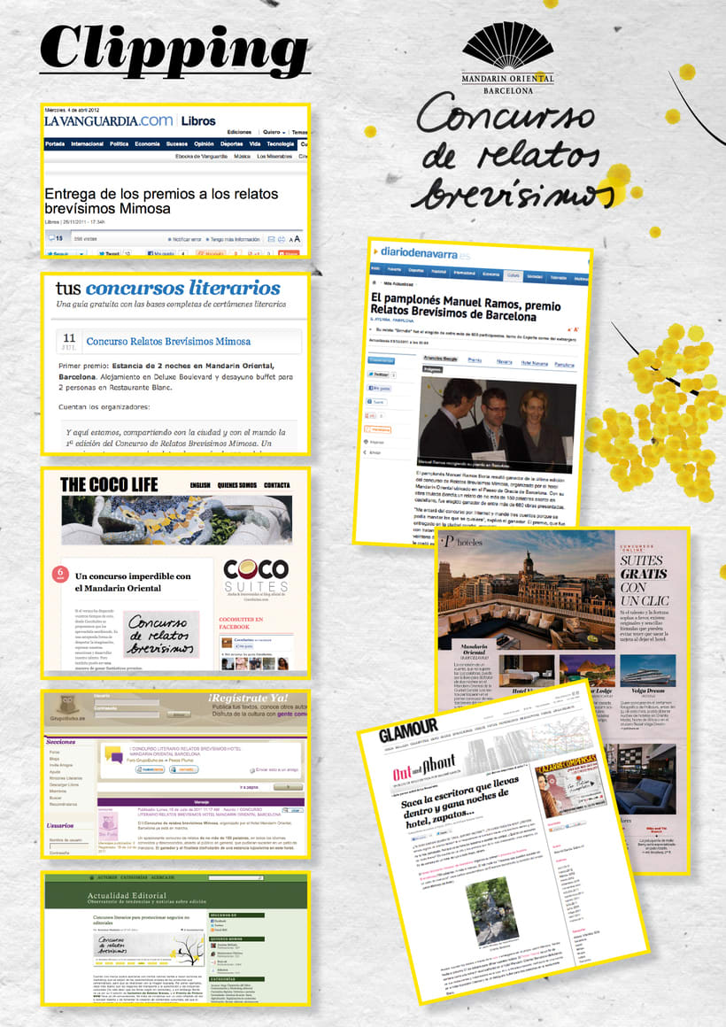 Concurso Relatos Brevísimos · Hotel Mandarin Oriental 5