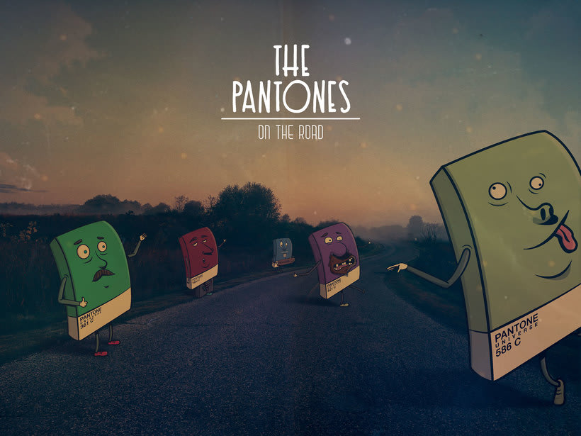 The Pantones / Diseño y Creación de Personajes -1