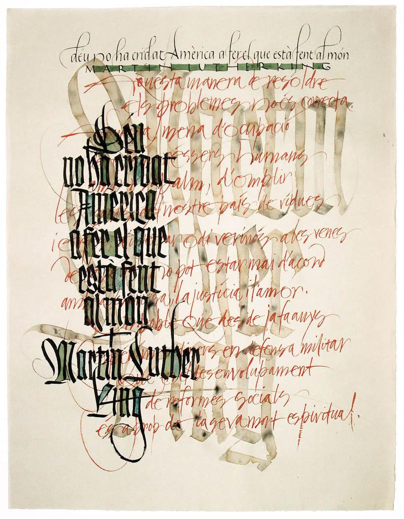 Caligrafiando con góticas potentes con Oriol Miró 9