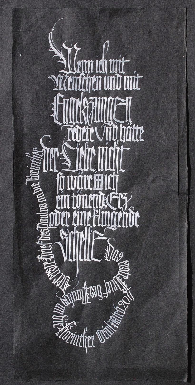 Caligrafiando con góticas potentes con Oriol Miró 17