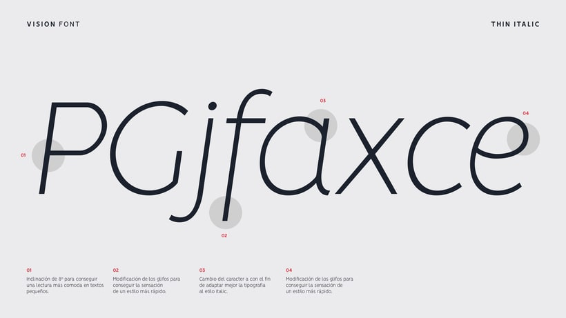 VISION - FREE FONT FAMILY  2