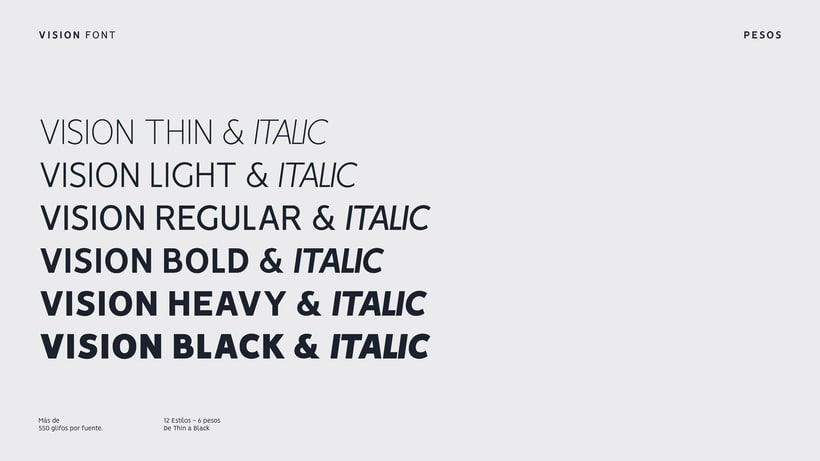 VISION - FREE FONT FAMILY  4