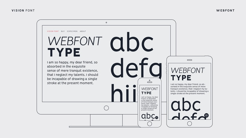 VISION - FREE FONT FAMILY  6