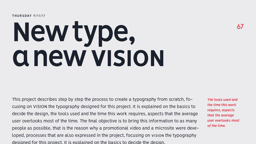 VISION - FREE FONT FAMILY  10