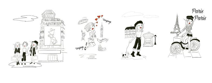 Busco trabajo, soy ilustradora 1