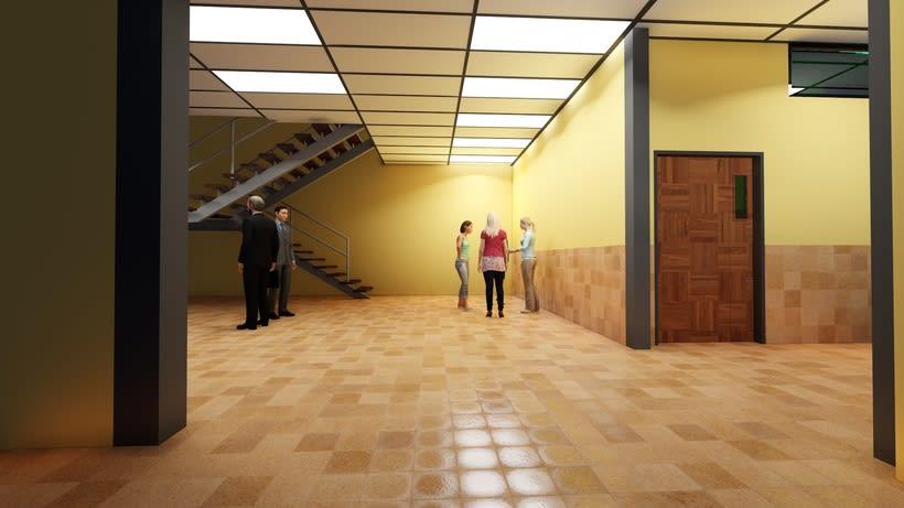 Dise o de ascensor universidad santa mar a n cleo for Diseno de interiores barcelona universidad