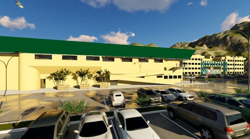 Dise o y c culo estructural de un gimnasio de la for Diseno de interiores barcelona universidad